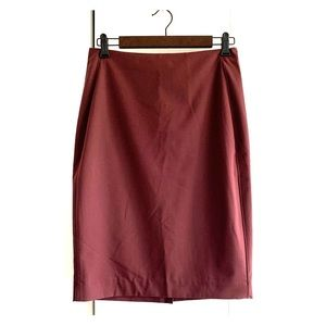 {NWT} The Limited | Crimson Pencil Skirt